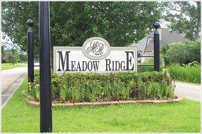 Meadow Ridge Entrance Baton Rouge Real Estate Buzz