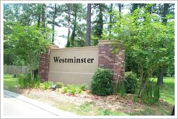 Westminster Entrance Sign