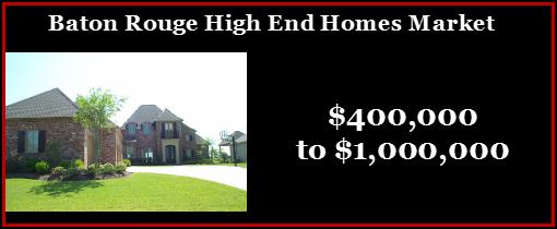 baton rouge high end homes market