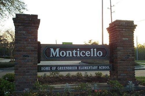 Monticello Sign