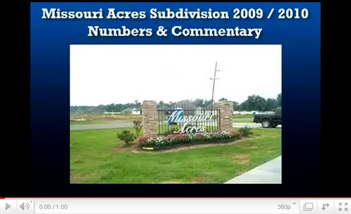Missouri Acres Addis La YouTube