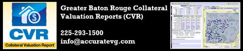 Greater Baton Rouge Collateral Valuation CVR Report Site