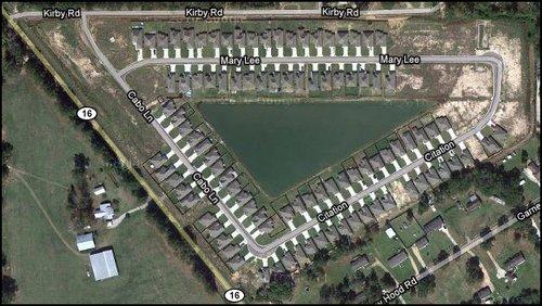 lake-at-grays-creek-subdivision-denham-springs-la-aerial-map